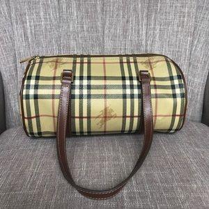 Authentic Burberry Barrel bag